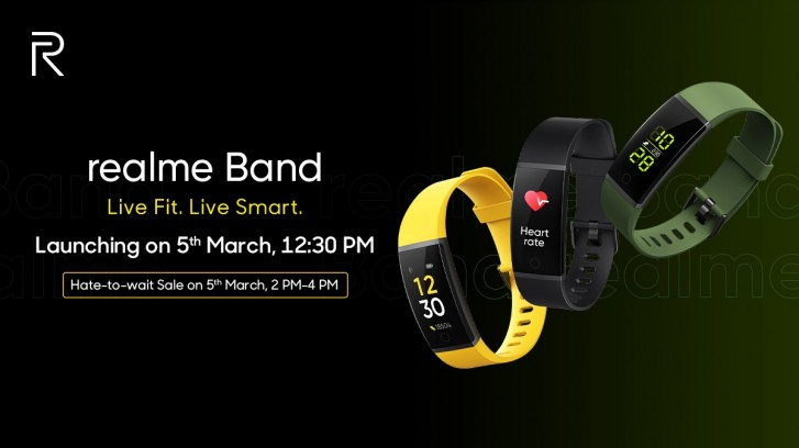Realme Band features revealed: USB-A connector, IP68 rating, and heart-rate monitor