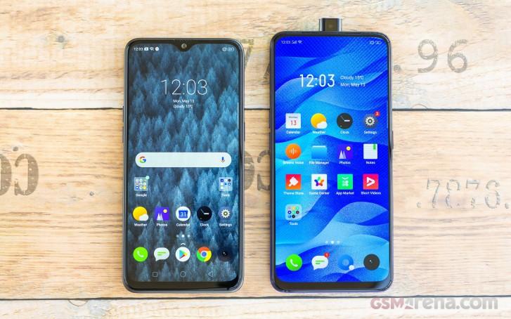 تبدأ Realme X و Realme 5 Pro في تلقي Android 10 و Realme UI