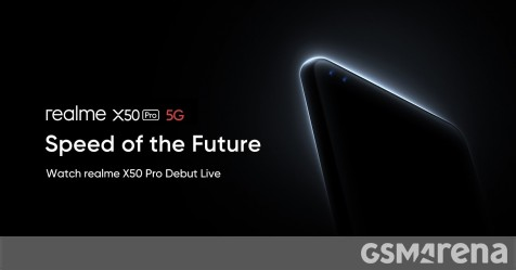 Watch the Realme X50 Pro 5G announcement live here - GSMArena.com news - GSMArena.com