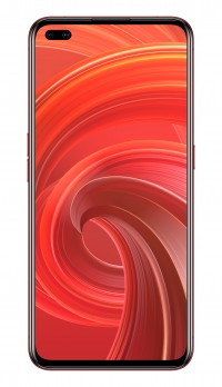 Realme X50 Pro 5G in Rust Red