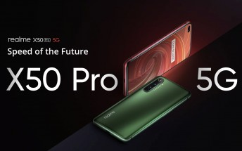 Realme X50 Pro 5G lands in China
