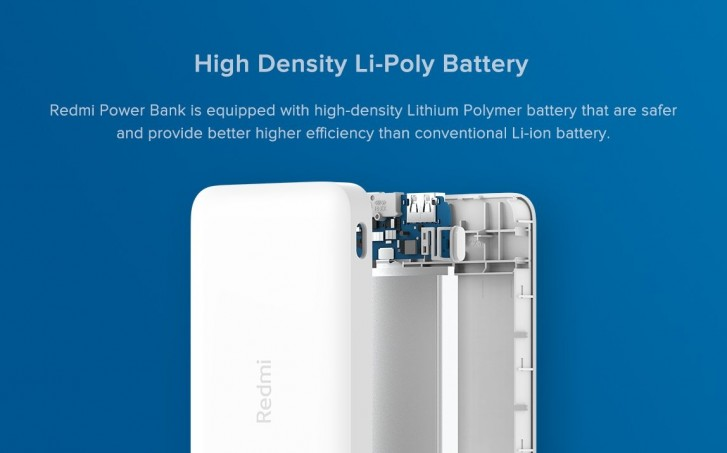 Redmi launches new 10,000 and 20,000 mAh power banks