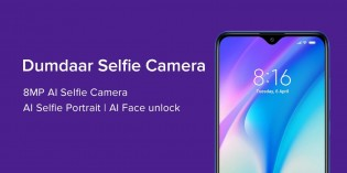 The Redmi 8A Dual comes with a total of three cameras