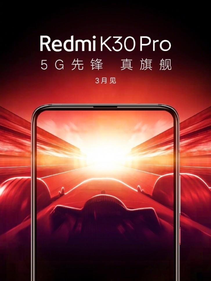 Redmi K30 Pro Mart ayında 5G ile geliyor
