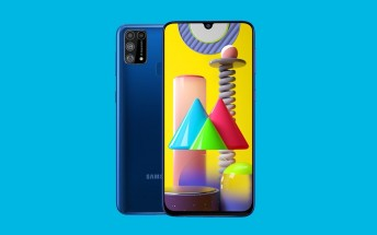 Samsung Galaxy M31 goes official with quad camera, 6,000mAh battery and Android 10