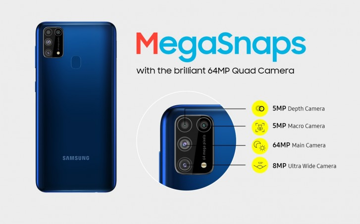 Samsung Galaxy M31 Goes Official With Quad Camera 6 000mah Battery And Android 10 Gsmarena Com News