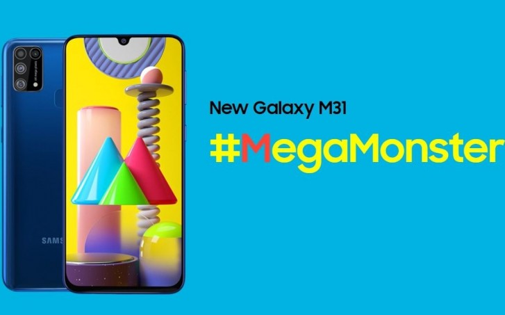 Samsung Galaxy M31 goes official with quad cameras, 6,000mAh battery and Android 10