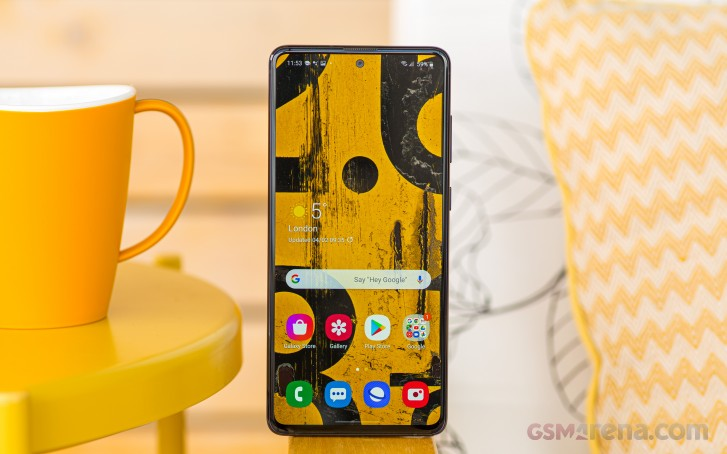 Samsung Galaxy Note10 Lite in for review