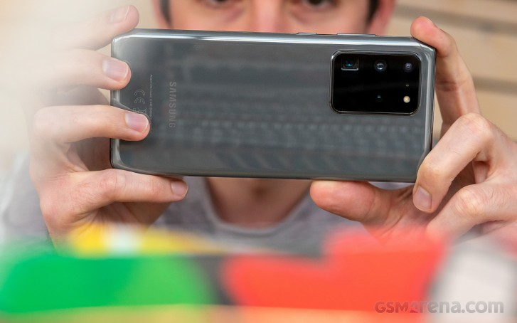 Samsung Galaxy S20 Ultra in for review