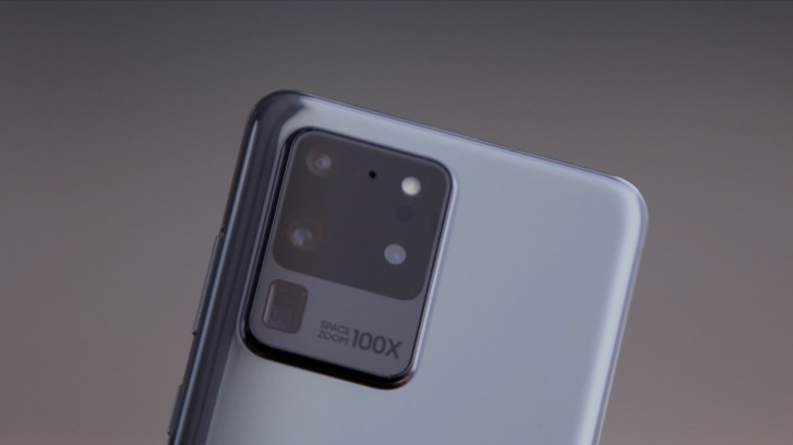 The Samsung Galaxy S20 Ultra has a 108MP main camera and a 48MP periscope zoom camera
