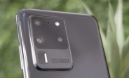 Live image of Galaxy S20 Ultra reveals camera setup, Galaxy S20+ pictured too