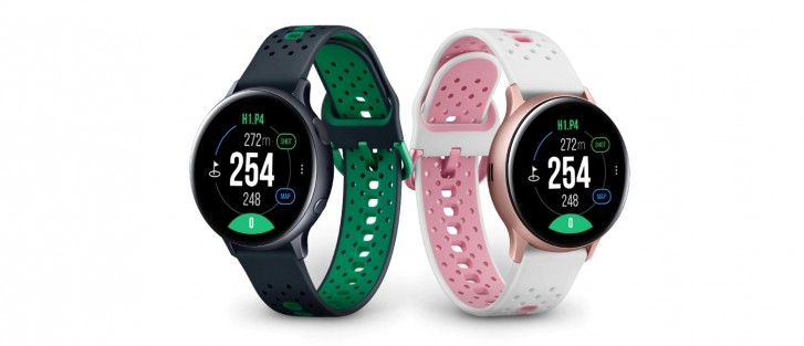 وصول Samsung Galaxy Watch Active 2 Golf Edition إلى كوريا الجنوبية