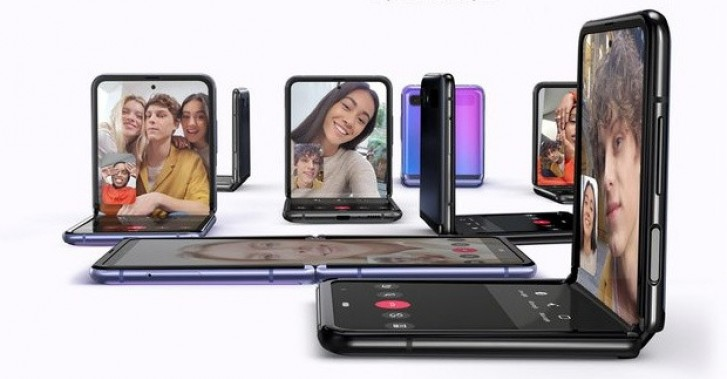 Samsung Galaxy Z Flip announced with UTG screen and Snapdragon 855+