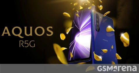 "Sharp announces Aquos R5G with 6.5"" QHD+ display, Snapdragon 865 and 8K video recording - GSMArena.com news - GSMArena.com"