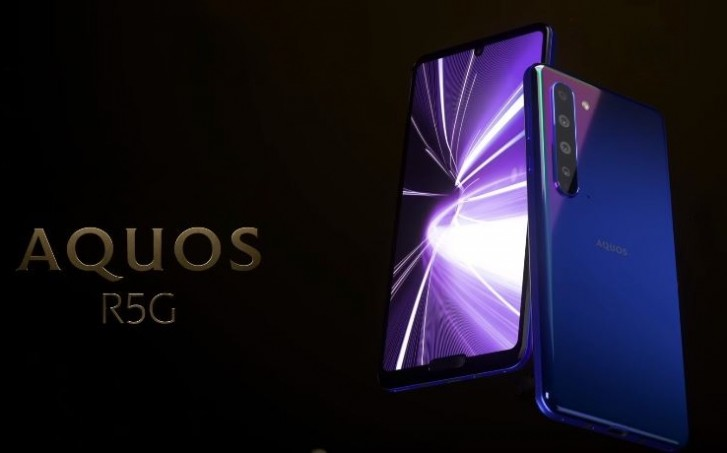 "Sharp announces Aquos R5G with 6.5"" QHD+ display, Snapdragon 865 and 8K video recording"