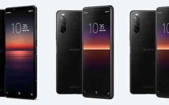 Sony Xperia 1 II, Xperia 10 II and L4 pricing and availability confirmed