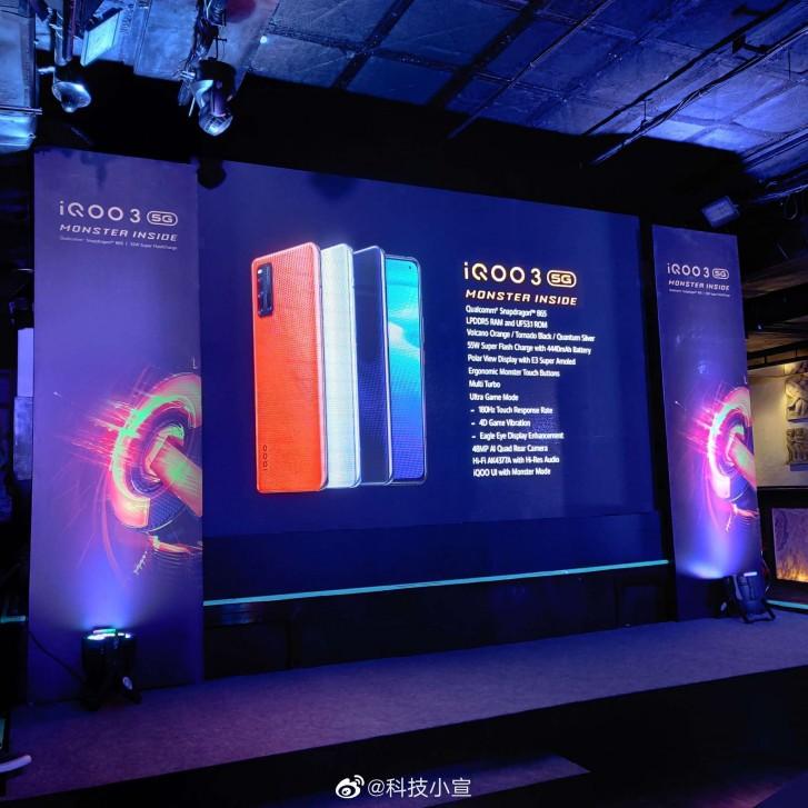 iQOO 3 5G specs