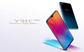 vivo Y91C 2020 debuts with 6.22