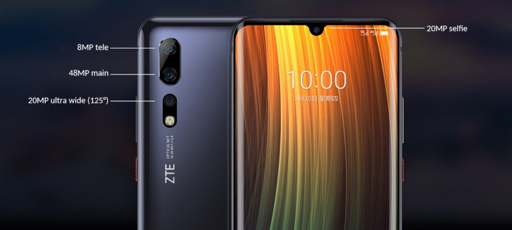 ZTE Axon 10s Pro unveiled with S865 chipset, 5G connectivity and 48MP main cam