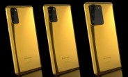 Here's where you can find a 24k gold Samsung Galaxy S20