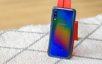 Samsung Galaxy A70s gets Android 10 in India, rollout for A70 resumes too