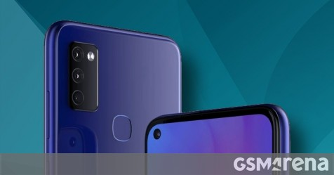 Samsung Galaxy M41 (or M51) CAD-based renders show 3.5mm jack, punch hole selfie camera