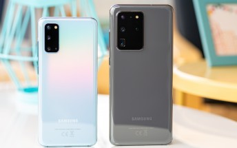 Samsung Galaxy S20 family sells only 60% as much as the S10 models last year