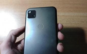 Leaked Google Pixel 4a live images confirm punch hole design