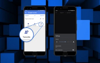 Google Translate for Android gains new live transcription functionality