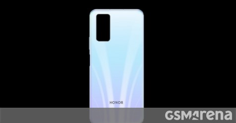 Honor 30S render surfaces, rumored to come with Kirin 820 SoC