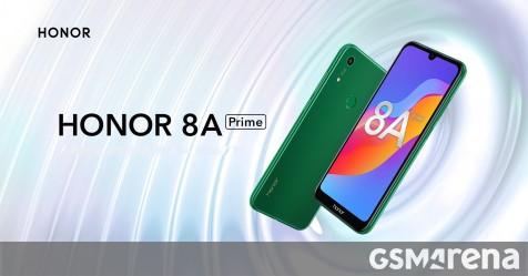 Honor 8A Pro được đổi thương hiệu thành Honor 8A Prime tại Nga