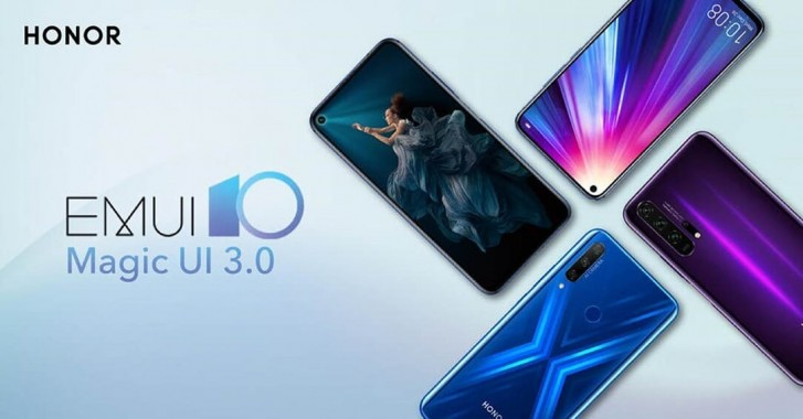 Honor 20 series and View 20 will receive Magic UI 3.0 update from March 15