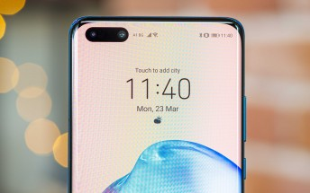 Huawei P40 lineup uses BOE screens
