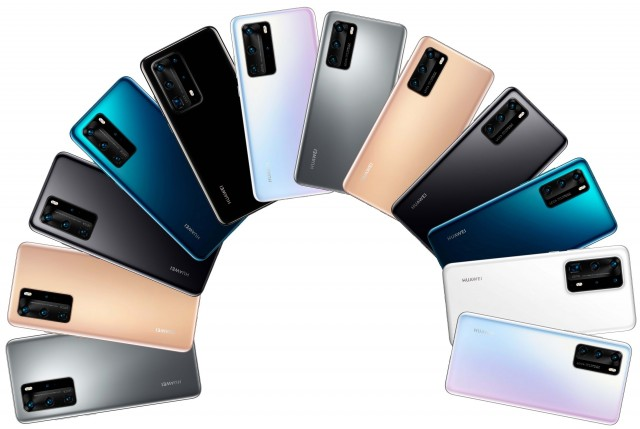 Huawei P40 series press image, source: @evleaks