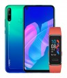 Huawei P40 Lite E in Black and Aurora Blue (with Huawei Band 4 pre-order bonus)