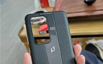 Unofficial Huawei P40 Porsche Design case lacks the symmetry of previous PD phones