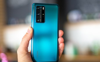 Huawei P40 trio suppliers list mentions LG next to BOE for the display panels