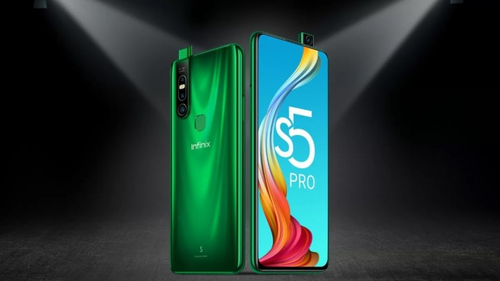 Infinix S5 Pro goes official: Helio P35 SoC, 48MP triple camera, and notchless display