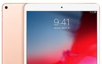 Service program for iPad Air (3rd gen) now under way