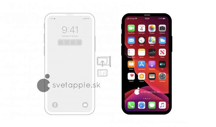 New iPhone 12 renders give us a glimpse of the notch-less design