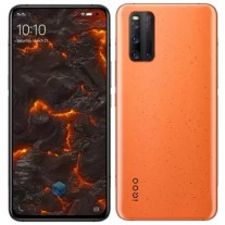 iQOO 3 في اللون البرتقالي بركان