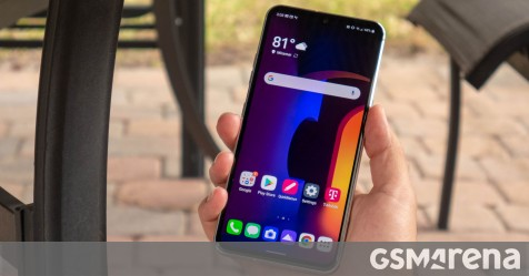 LG V60 ThinQ 5G in for review