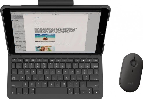 Logitech unveils keyboard cases with trackpads for the other iPads