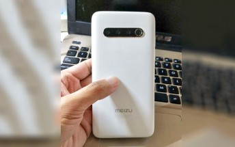 Meizu 17 live  shot reveals back design