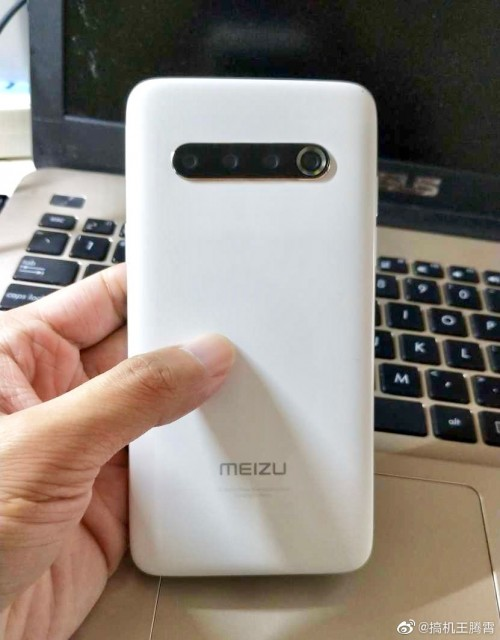 Meizu 17 hands-on shot reveals back design