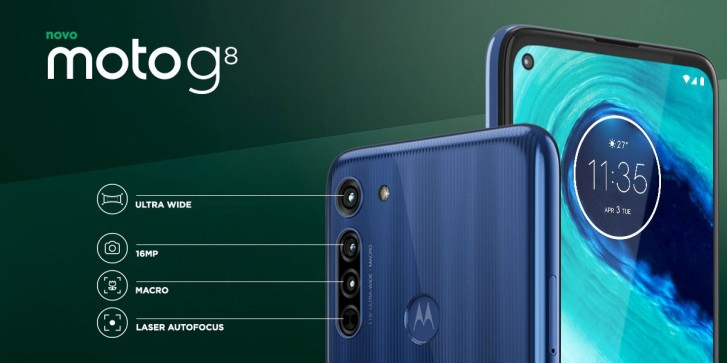 Moto G8 unveiled with 720p+ display, new triple camera and larger battery -  GSMArena.com news