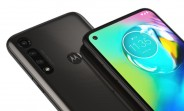 Renders of Moto G8 Power Lite leak with triple cameras in textured black