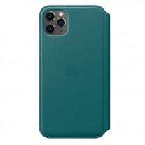 iPhone 11 Pro Max leather folio case