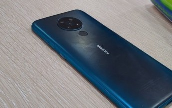 Nokia 5.3 appears in flesh again with a quad camera