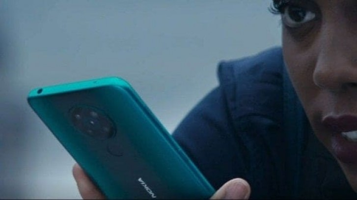 Screengrabs from new Bond trailer show the Nokia 8.2 5G
